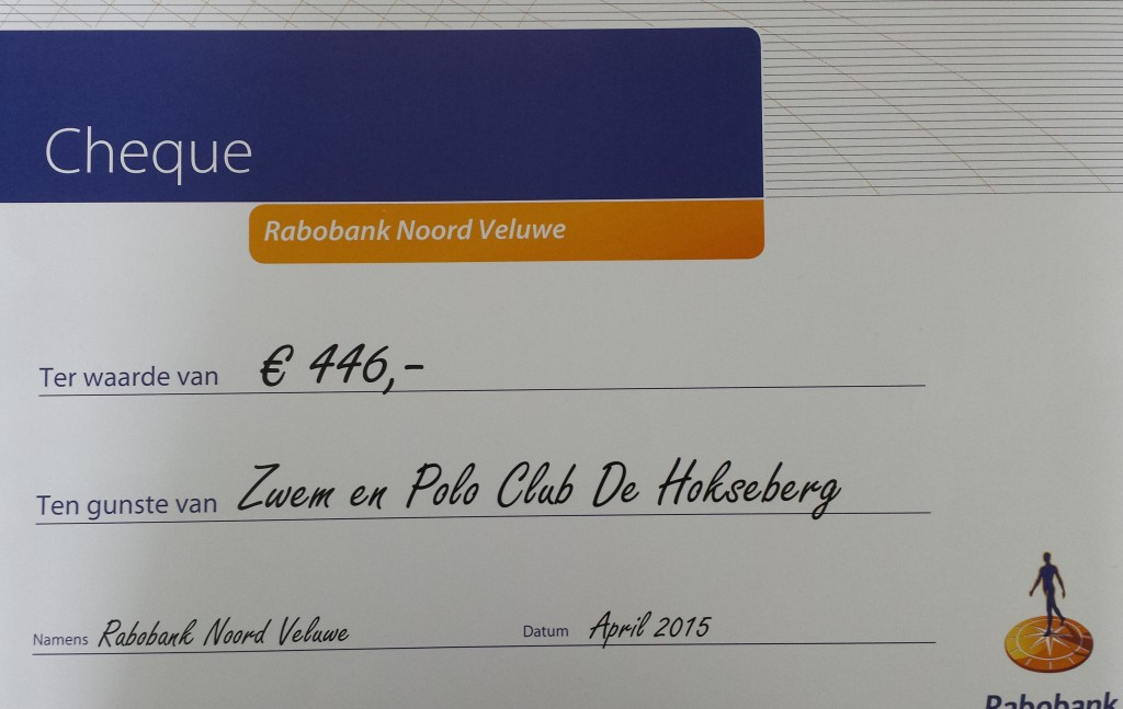 Cheque RCF 2015