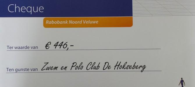 Rabobank Clubkasfonds Succesvol voor De Hokseberg!